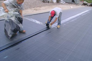 EPDM roofs are a good choice for flat roof buildings.