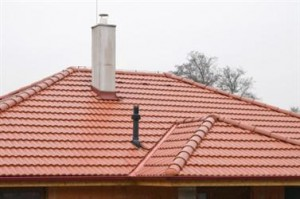 This is a barrel tile roof.