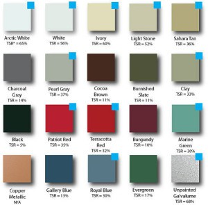Many color options are available to homeowners.