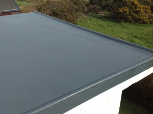 Flat roofs last a long time if taken care of.