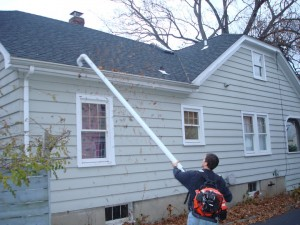Gutter Attachment For Leaf Blower Roofing Roger