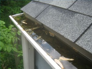 Avoid having gutters like this.