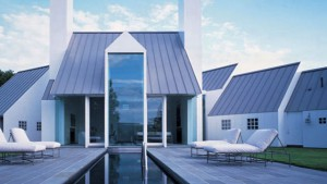 Metal roofs look good on any house as they can be painted in any color.