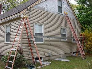 Vinyl siding is more popular than aluminum siding