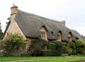 There are a wide array of roofing options. Thatch, the one photoed, is popular in other areas of the world.